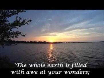 Psalm 65 wonders