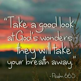 Psalm 66 look at God