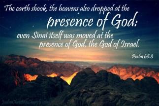 Psalm 68 8