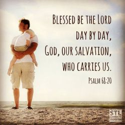 Psalm 68 He carries us