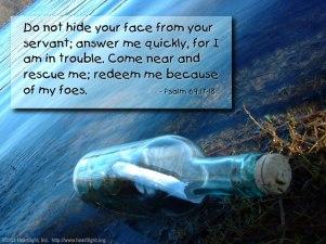 Psalm 69 foes