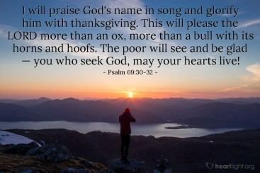 Psalm 69 praise God