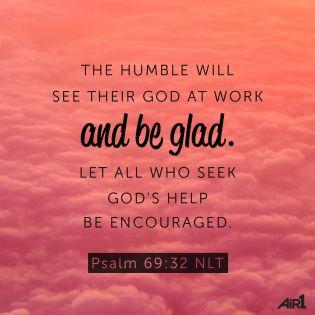 Psalm 69 seek God