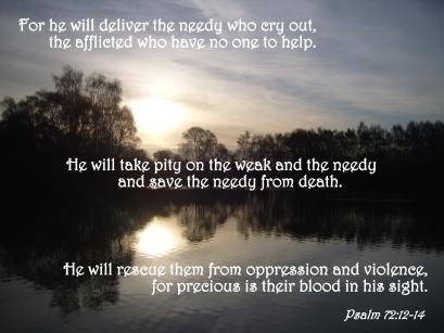 Psalm 72 needy