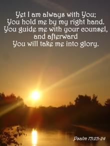 Psalm 73 glory