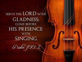 Psalm 100 singing