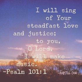 Psalm 101 love