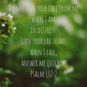 Psalm 102 2