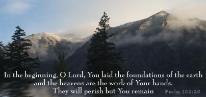 Psalm 102 25