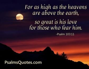 Psalm 103 God