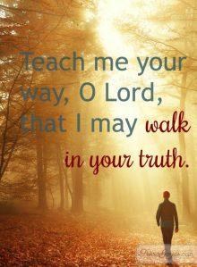 Psalm 86 teach me