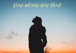 Psalm 86 you alone
