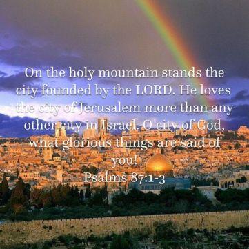 Psalm 87 city of God