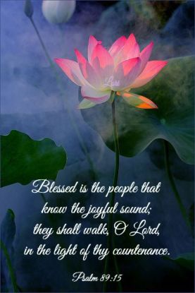 Psalm 89 blessed who know