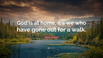 Psalm 90 God is at home