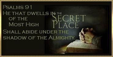 Psalm 91 secret place