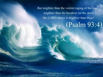 Psalm 93 4