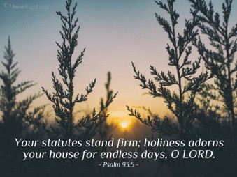 Psalm 93 5