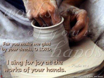Psalm 93 God's works