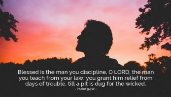 Psalm 94 discipline