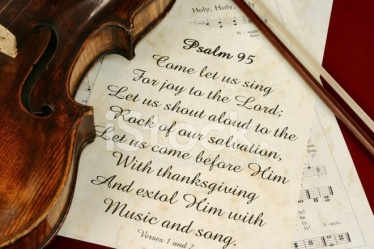 Psalm 95 praise