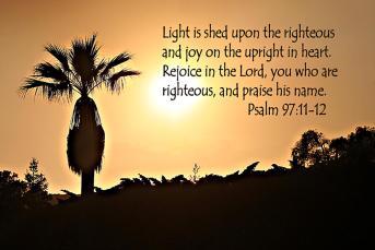 Psalm 97 12