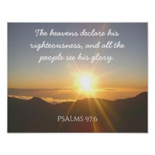 Psalm 97 glory