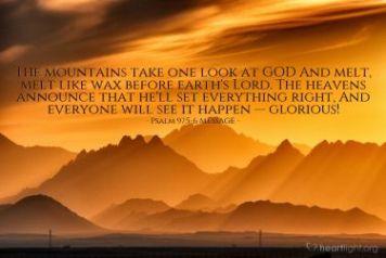 Psalm 99 God