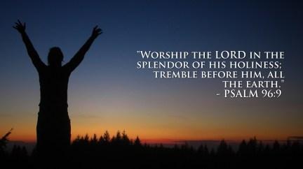 Psalm 99 holiness