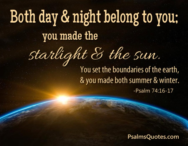 Psalm 74 Creator