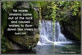 Psalm 78 16