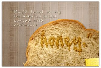 Psalm 81 bread and butter