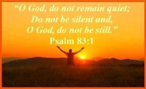 Psalm 83 1 God