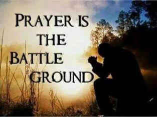 Psalm 83 prayer is the battleground
