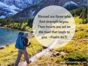 Psalm 84 5 lead to you
