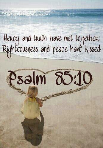 Psalm 85 10 kiss