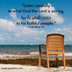 Psalm 85 listen