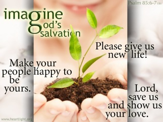 Psalm 85 salvation