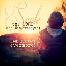 Psalm 105 seek