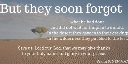 Psalm 106 13
