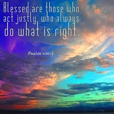 Psalm 106 3