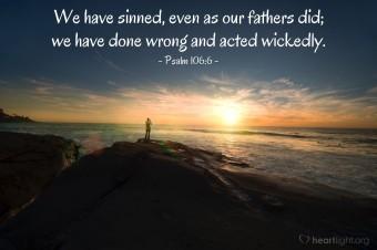 Psalm 106 6