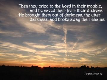 Psalm 107 13