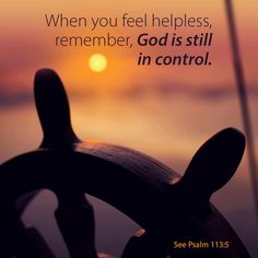 Psalm 107 God is in control