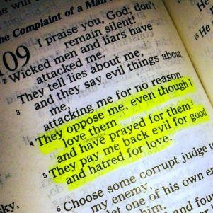 psalm 109 evil payback
