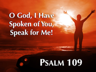 psalm 109 speak for me