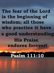 psalm 111 10
