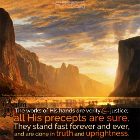 psalm 111 stand forever