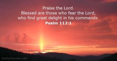 psalm 112 1