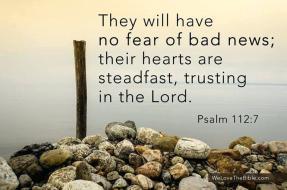 psalm 112 7 no fear